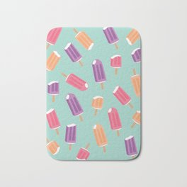 Rainbow Colorful Popsicle Pattern 2 Bath Mat