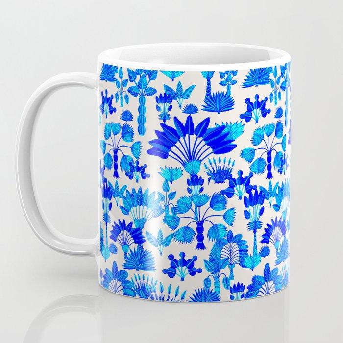 Exotic Garden Blue Coffee Mug