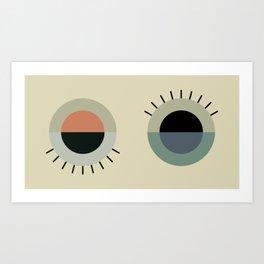 day eye night eye Art Print