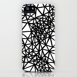 Glass Jewerly in white iPhone Case