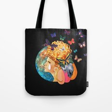 Under the Blue Moon I Saw You Tote Bag