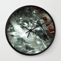 transparent Wall Clocks featuring Transparent by Shannice Wollcock