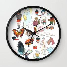 Little Thunder I Wall Clock