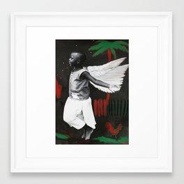 Florence in Flight Framed Art Print
