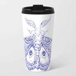 Blue Moth Travel Mug