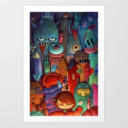 The Army of Me Art Print