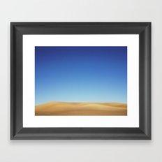 Wheat Hills Framed Art Print