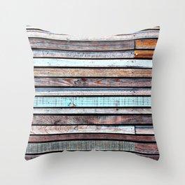 Wooden dream  Throw Pillow