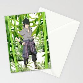 Hero anime 01 Stationery Cards