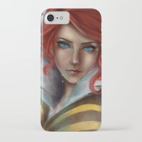 transistor iPhone & iPod Cases featuring Transistor - Tears by selvaritan