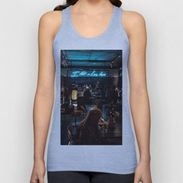 I fell in love here Unisex Tank Top