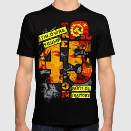 TRE45ON SHIRT Anti Trump - Putin, Treason Protest T-shirt