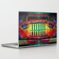 grateful dead Laptop & iPad Skins featuring Jump Like A Willys - Sugar Magnolia, Grateful Dead by Soulive Design