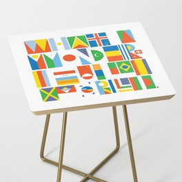 What A Wonderful World II Side Table