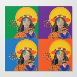 Divina Pastora de Venezuela Canvas Print