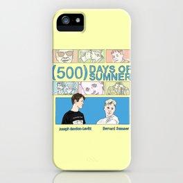 500 Days of Sumner iPhone Case