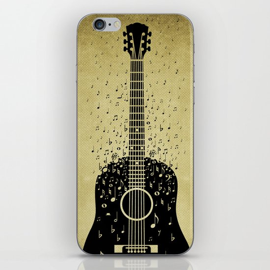 Musical ascension iPhone & iPod Skin