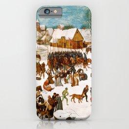 """Pieter Bruegel (also Brueghel or Breughel) the Elder """"Massacre of the Innocents iPhone Case"""