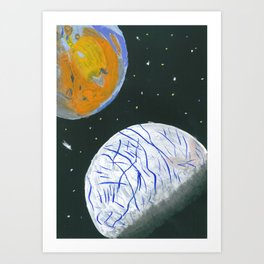 Europa and Io Art Print