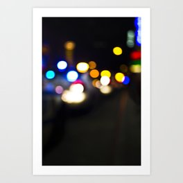New York Lights Art Print