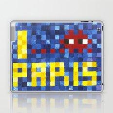 I Space Invader Paris Laptop & iPad Skin