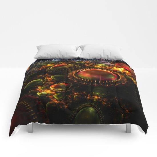 Starship Arriving Comforters