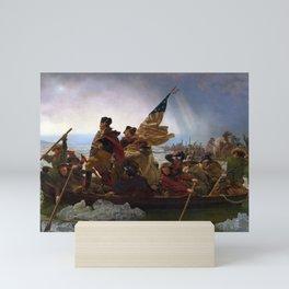 Washington Crossing the Delaware by Emanuel Leutze Mini Art Print