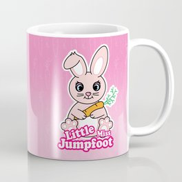 Little Miss Jumpfoot Coffee Mug