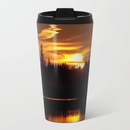 Northern Sunset 001 Travel Mug