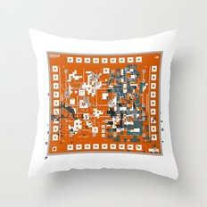 Positronic Reality Circuitry Throw Pillow