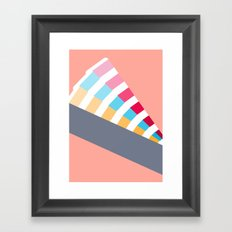 #28 Pantone Swatches Framed Art Print