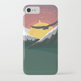Where the Sun Sails and the Moon Walks iPhone Case