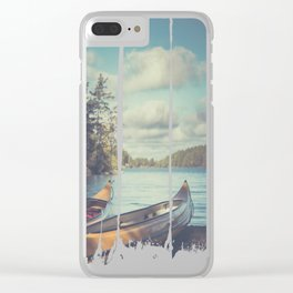 I´ve had dreams about you Clear iPhone Case