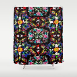 Ecuadorian Stained Glass 0760 Shower Curtain