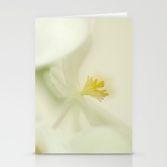 the dance of the flowers Stationery Cards