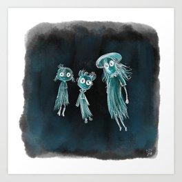 Coraline Ghost Children Art Print