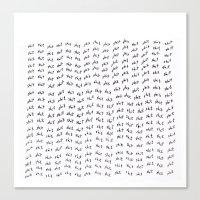 shit Canvas Prints featuring shit by edoardo de falchi
