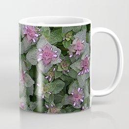 WILD SALVIA MAUVE AND GRAY GREEN Coffee Mug