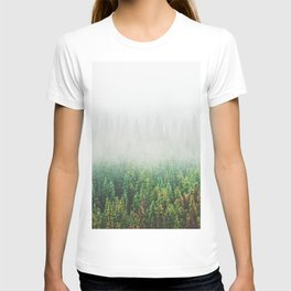Misty Jasper Pine Forest T-shirt
