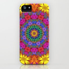 floral mandala -1- iPhone Case