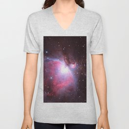 Great Nebula in Orion Unisex V-Neck