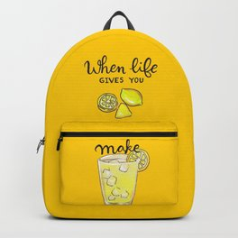 Make Lemonade Backpack