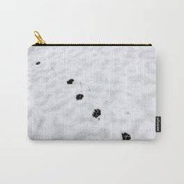 Hunting snow beast paw prints Carry-All Pouch