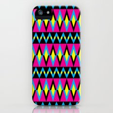 Zig Zag Triangles Slim Case iPhone (5, 5s)
