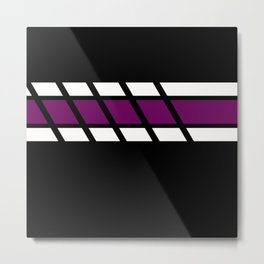 Team Colors..Purple Metal Print