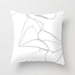 bisou Throw Pillow