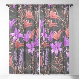 Botanical Garden Sheer Curtain