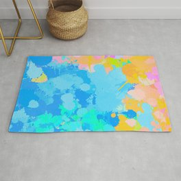 Tropical explosion Rug