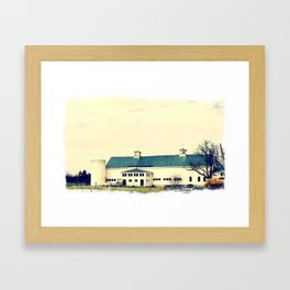 Hobbs Farm & Jericho Framed Art Print