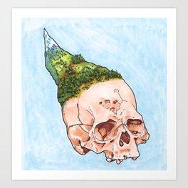 Mountain Fresh Hair 2 Art Print